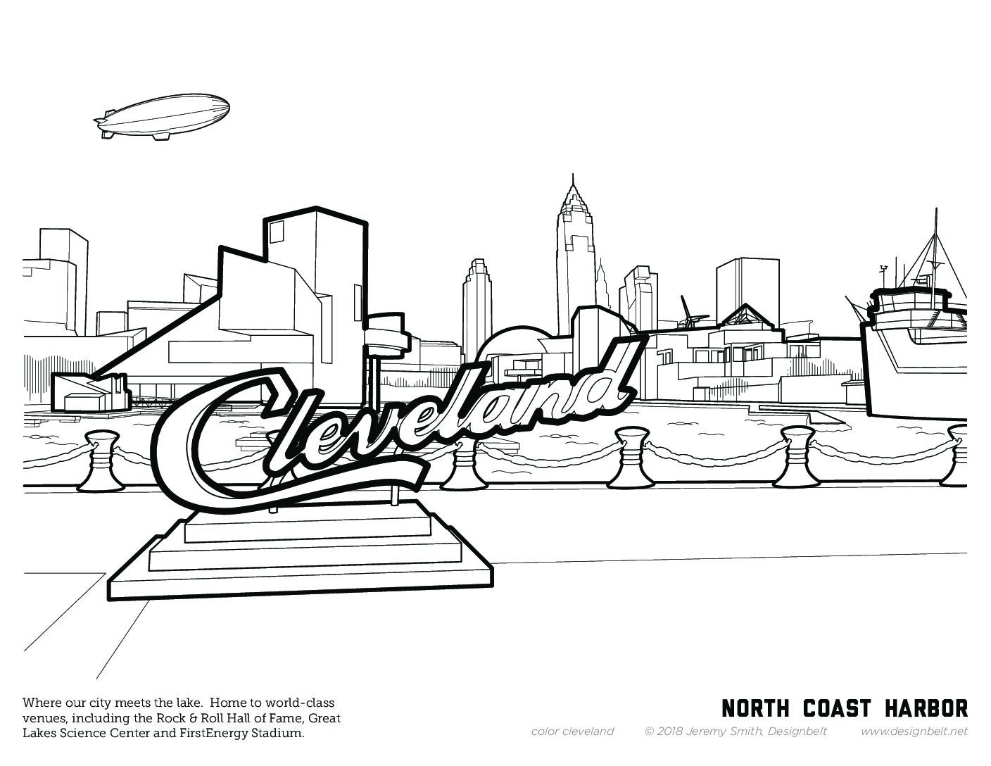 Cleveland Coloring Pages